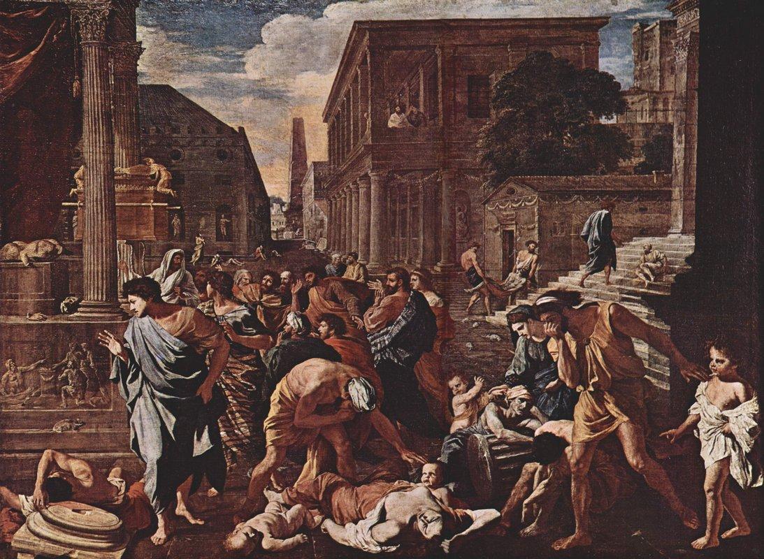 The Plague at Ashod - Nicolas Poussin