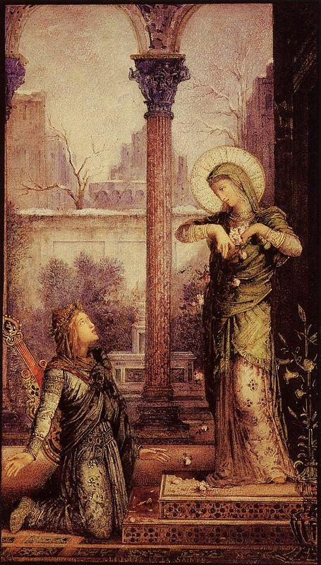 The Poet and the Saint - Gustave Moreau