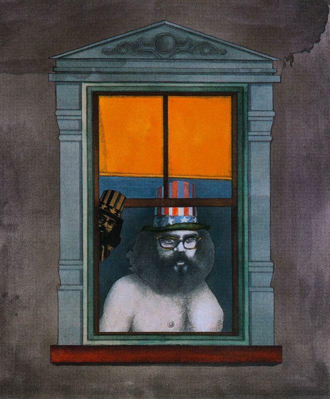 The Poet - Fernando Botero