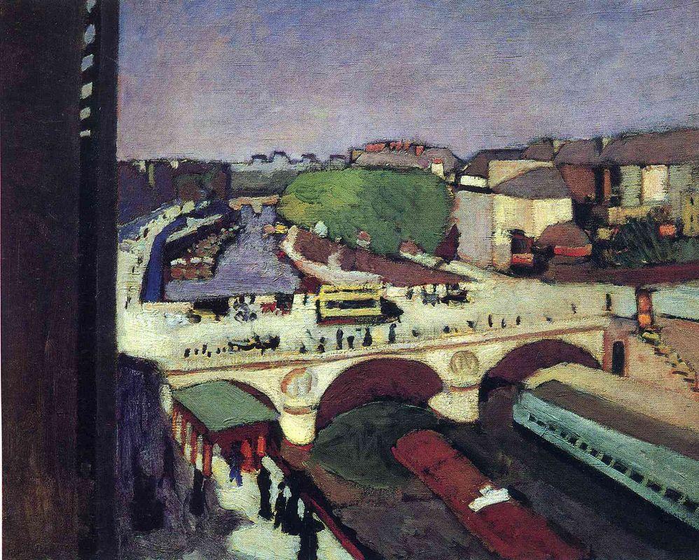The Pont Saint-Michel - Henri Matisse