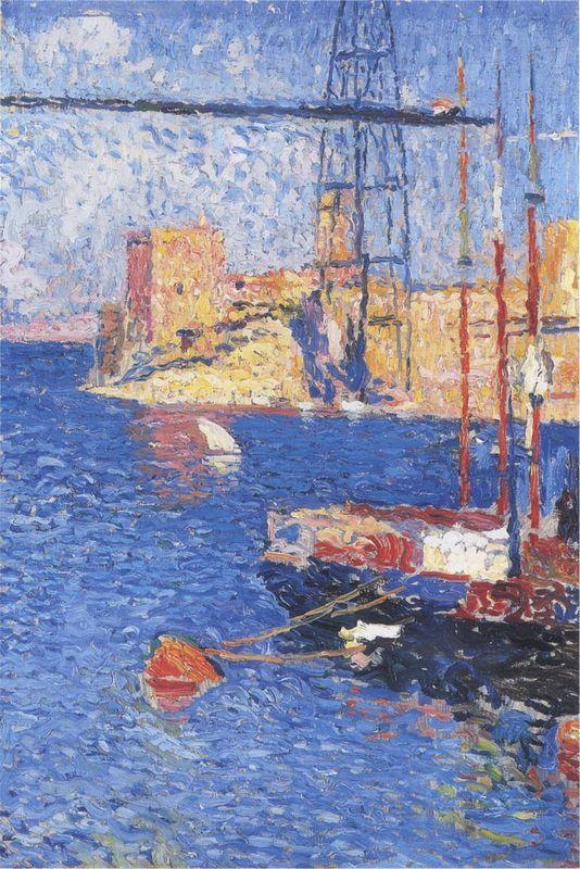 The Port of Marseilles transhipping - Henri Martin