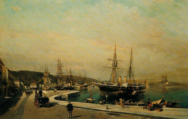 The port of Volos - Konstantinos Volanakis