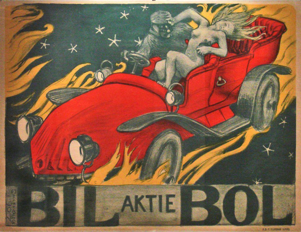 The poster Bilbol   - Akseli Gallen-Kallela