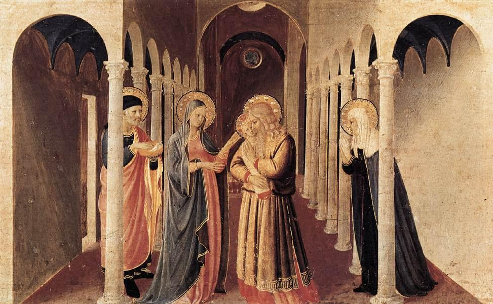 The Presentation of Christ in the Temple - Fra Angelico