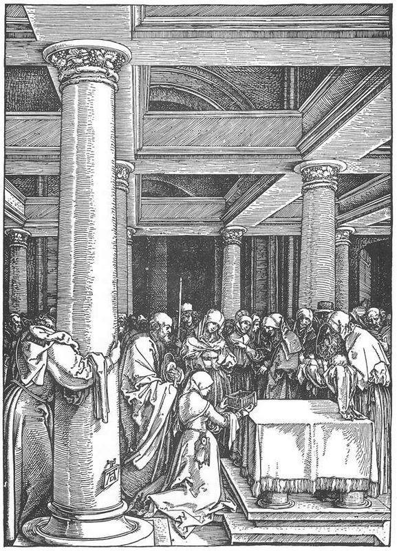 The Presentation of Christ in the Temple - Albrecht Durer