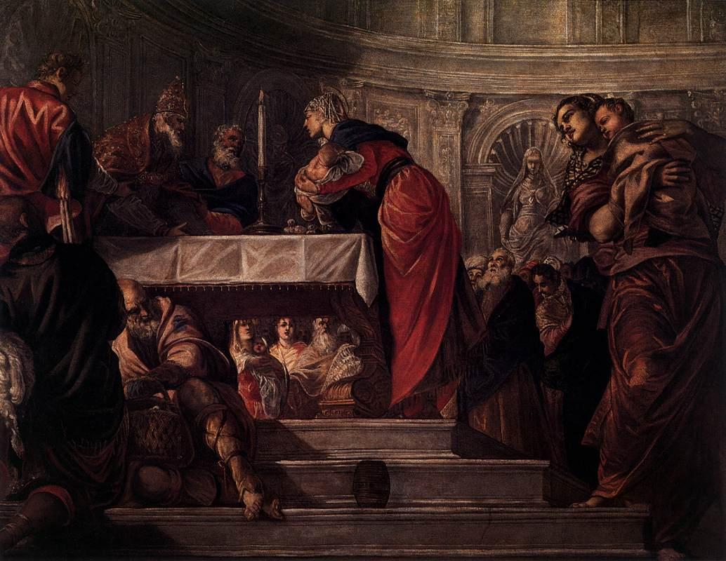 The Presentation of Christ in the Temple - Tintoretto