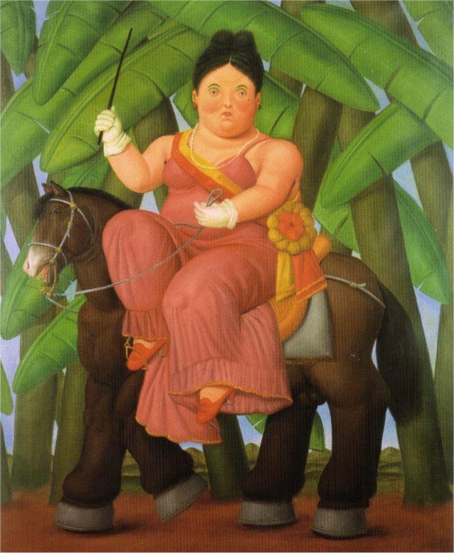 The President and First Lady (2) - Fernando Botero