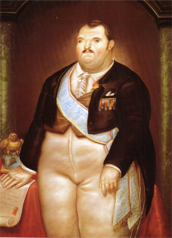 The President - Fernando Botero
