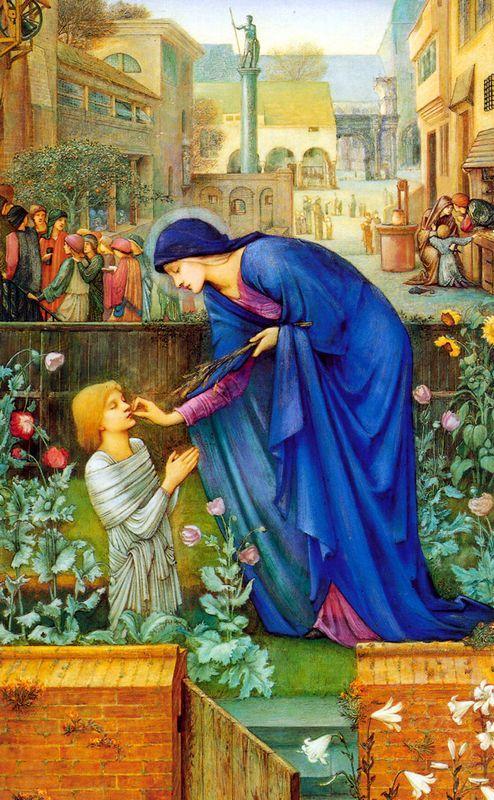The Prioress'sTale - Edward Burne-Jones