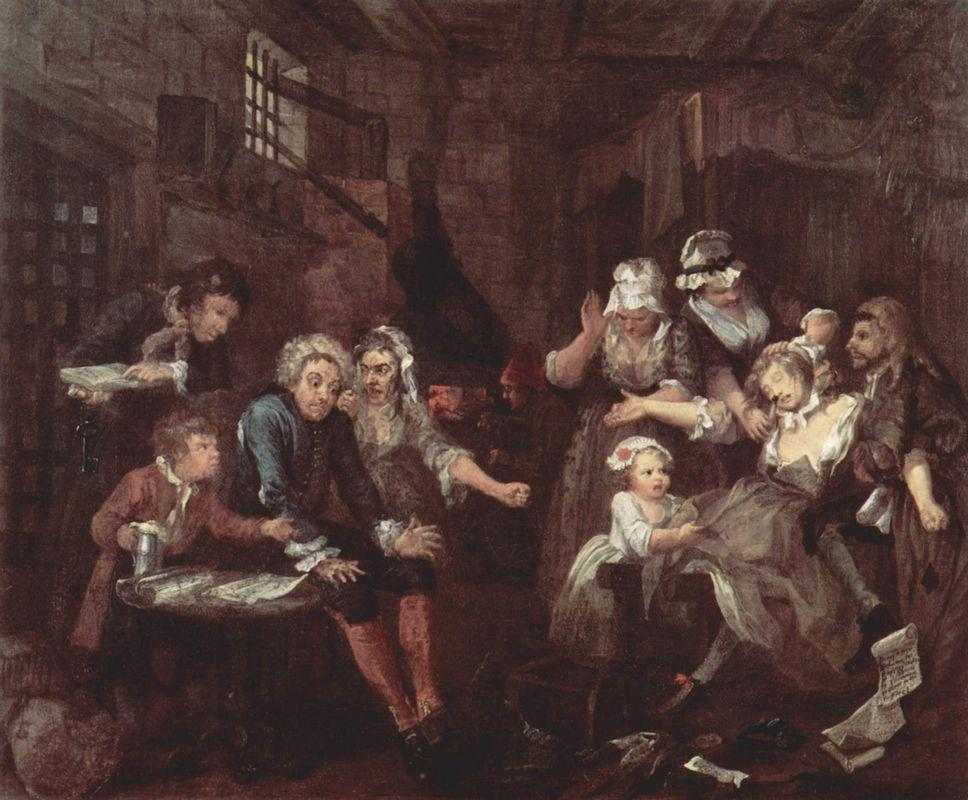 The prison - William Hogarth