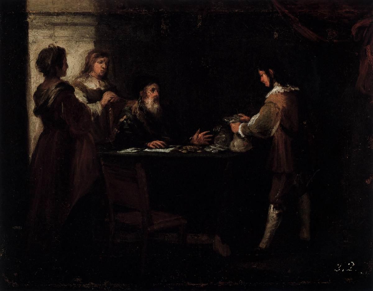 The Prodigal Son Receives His Rightful Inheritance - Bartolome Esteban Murillo
