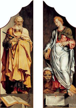 The prophets Ezekiel and Daniel - Maerten van Heemskerck