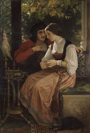 The Proposal - William-Adolphe Bouguereau