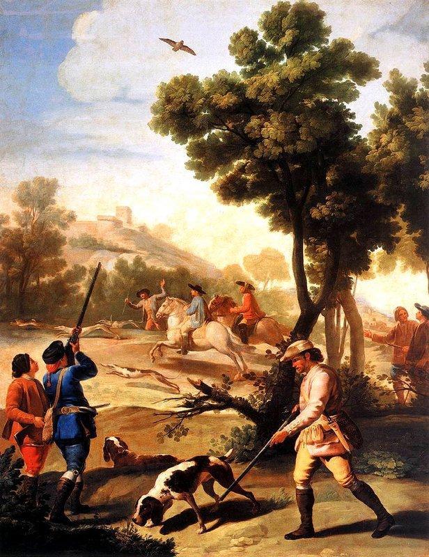 The Quail Shoot - Francisco Goya