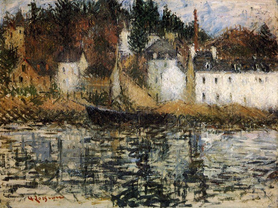 The Quay at Pont Aven - Gustave Loiseau