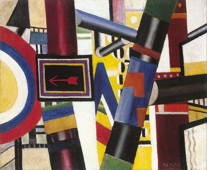 The railway crossing - Fernand Leger