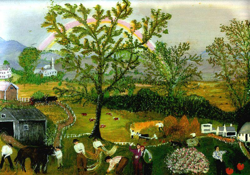 The Rainbow - Grandma Moses