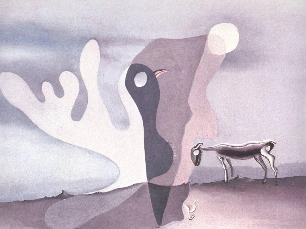 The Ram (The Spectral Cow) - Salvador Dali