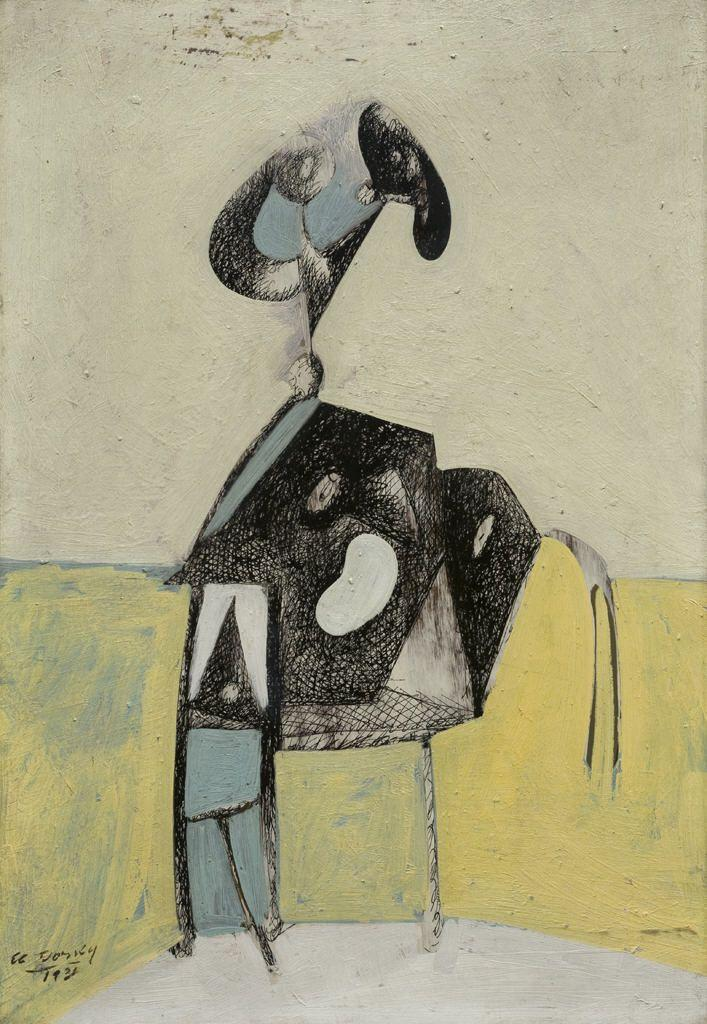 The Raven (Composition No. 3) - Arshile Gorky