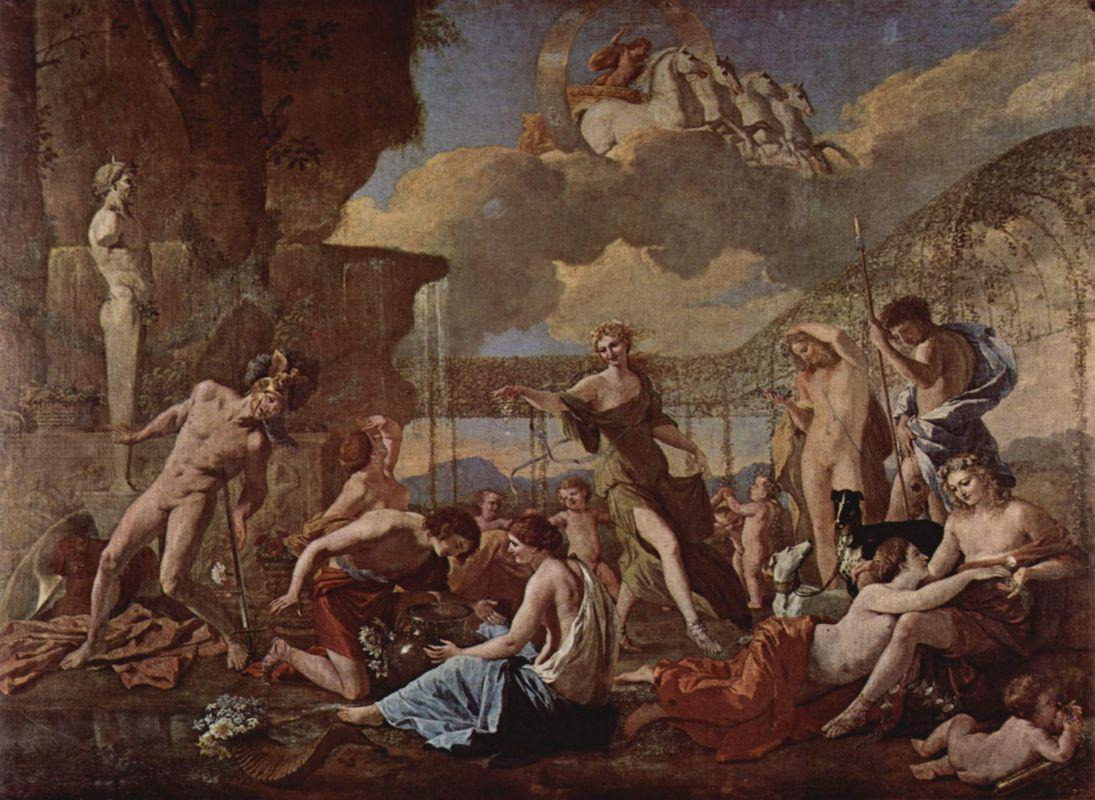 The Realm of Flora - Nicolas Poussin