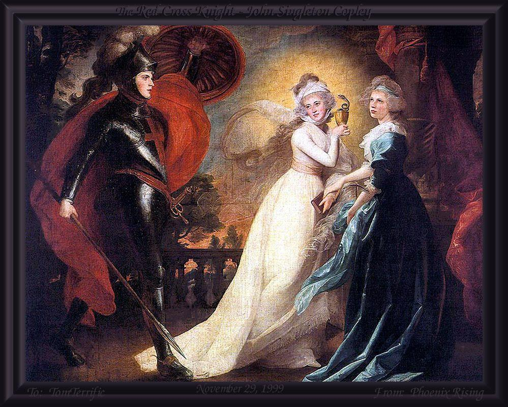 The Red Cross Knight - John Singleton Copley