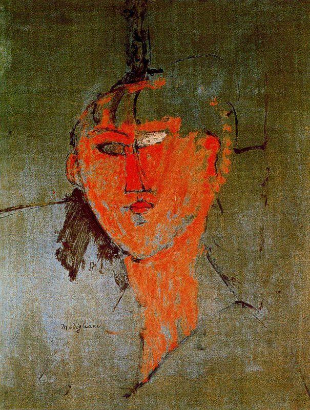 The Red Head - Amedeo Modigliani