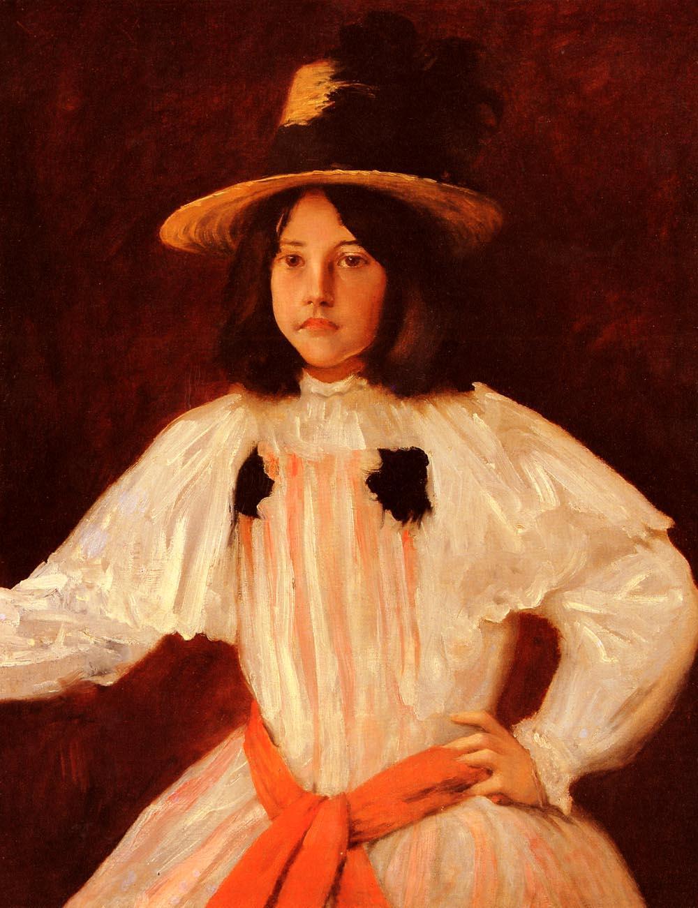 The Red Sash - William Merritt Chase