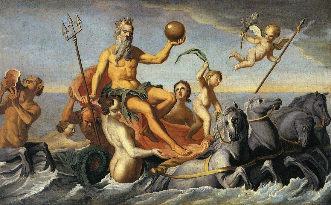 The Return of Neptune - John Singleton Copley