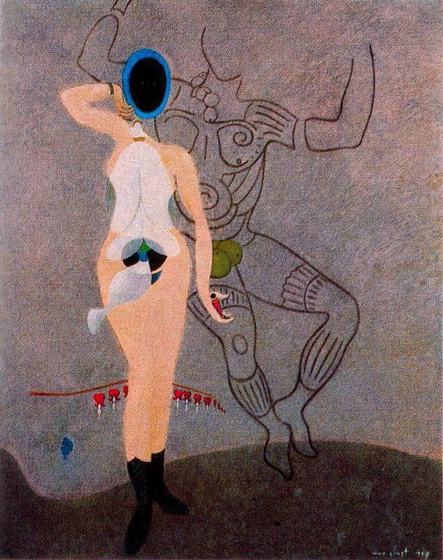 The Return of the Beautiful Gardener (Homage to women) - Max Ernst