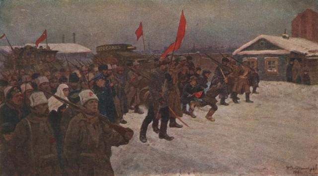 The revolt of the soldiers and workers in the days of February 1917 - Ivan Vladimirov