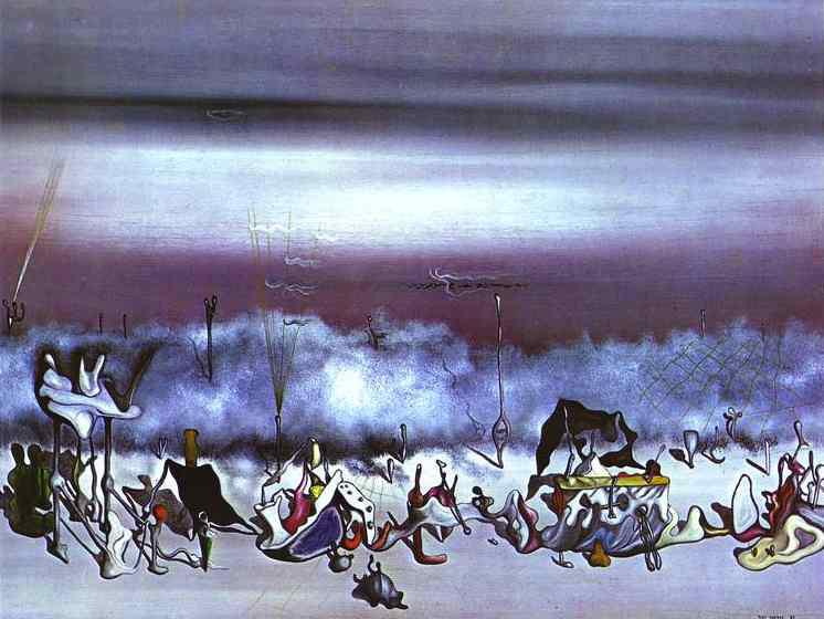 The Ribbon of Extremes - Yves Tanguy