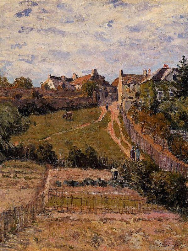 The Rising Path - Alfred Sisley