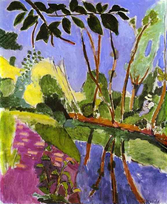 The Riverbank - Henri Matisse