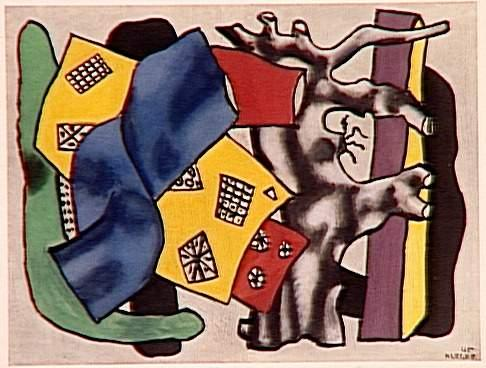 The root gray - Fernand Leger