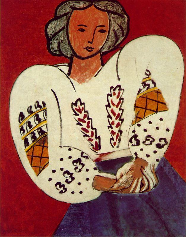 The Romanian Blouse - Henri Matisse
