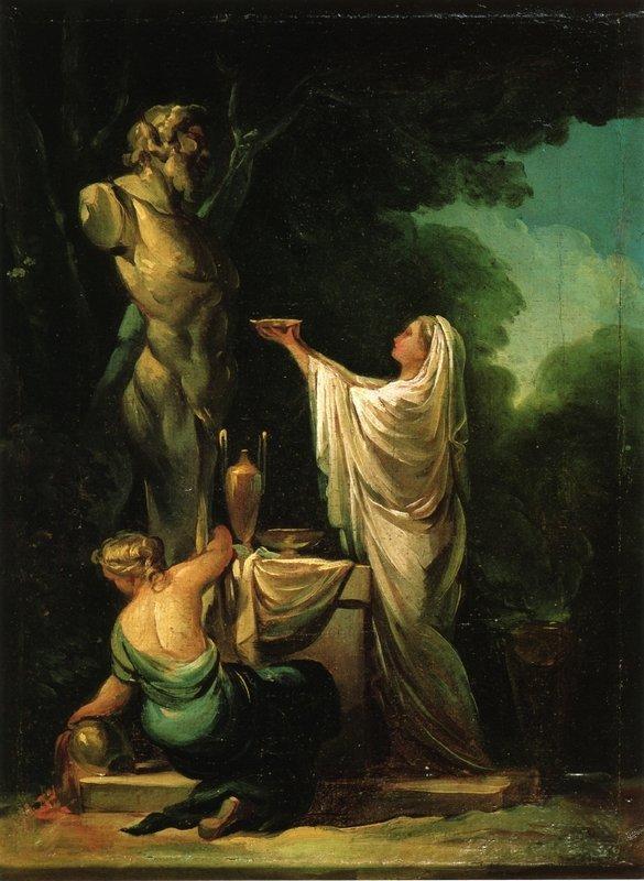 The Sacrifice to Priapus - Francisco Goya