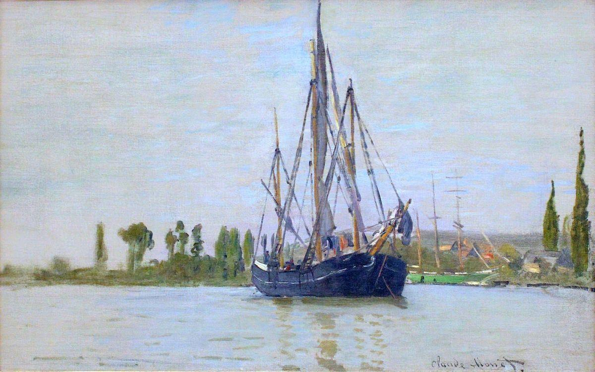 The Sailing Boat - Claude Monet