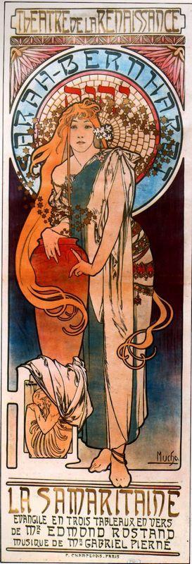 The Samaritan - Alphonse Mucha