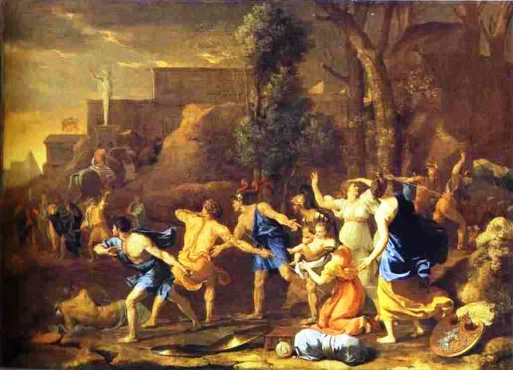 The Saving of the Infant Pyrrhus - Nicolas Poussin
