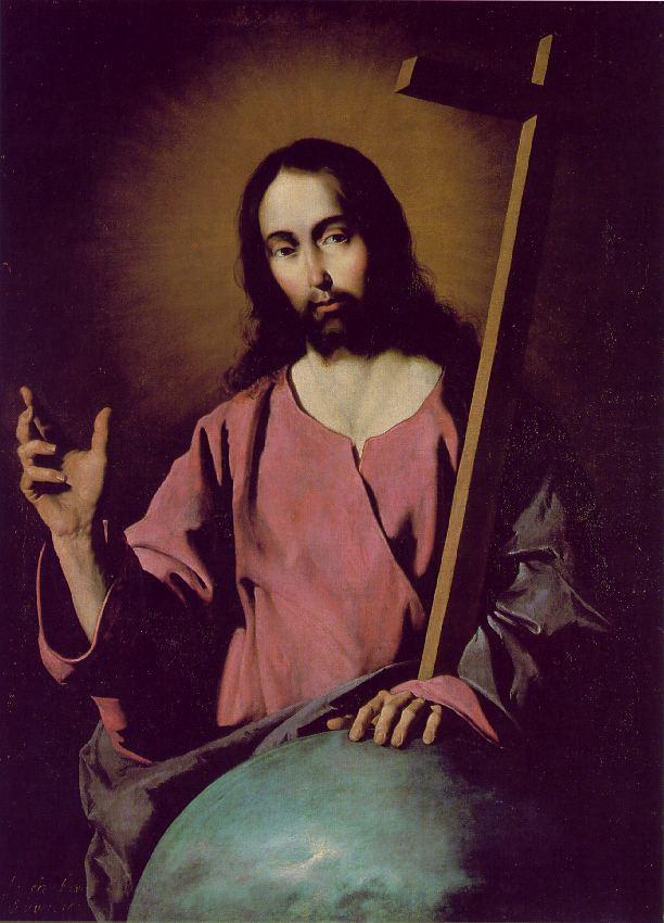 The Savior Blessing - Francisco de Zurbaran