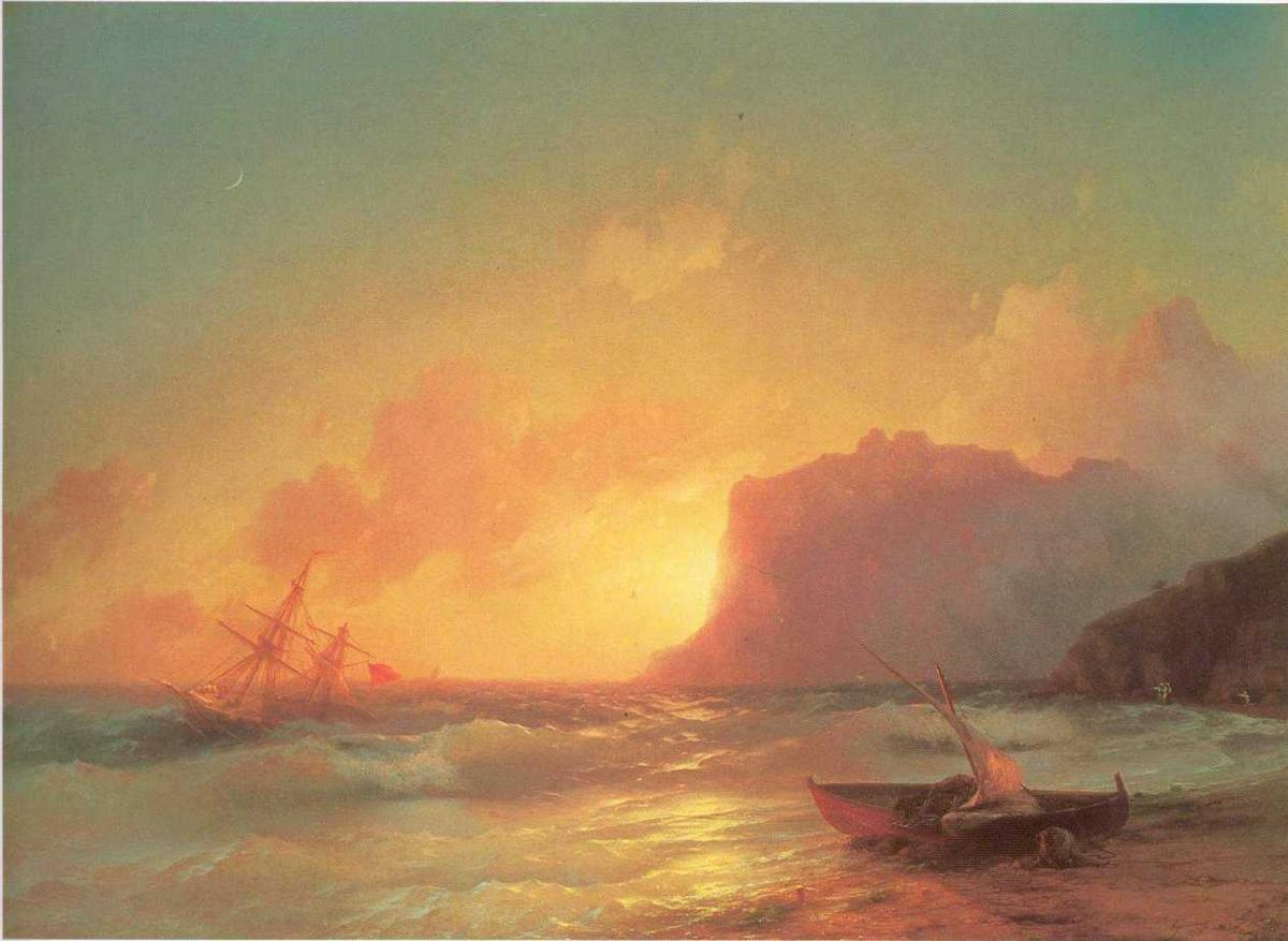 The Sea. Koktebel. - Ivan Aivazovsky