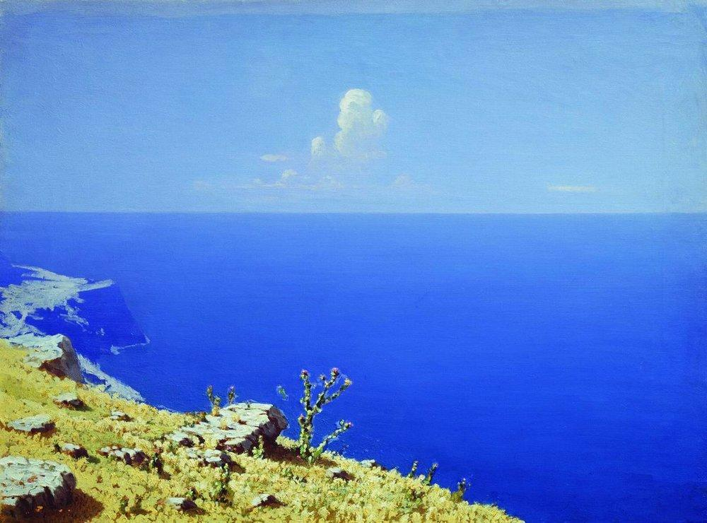 The Sea. The Crimea - Arkhip Kuindzhi