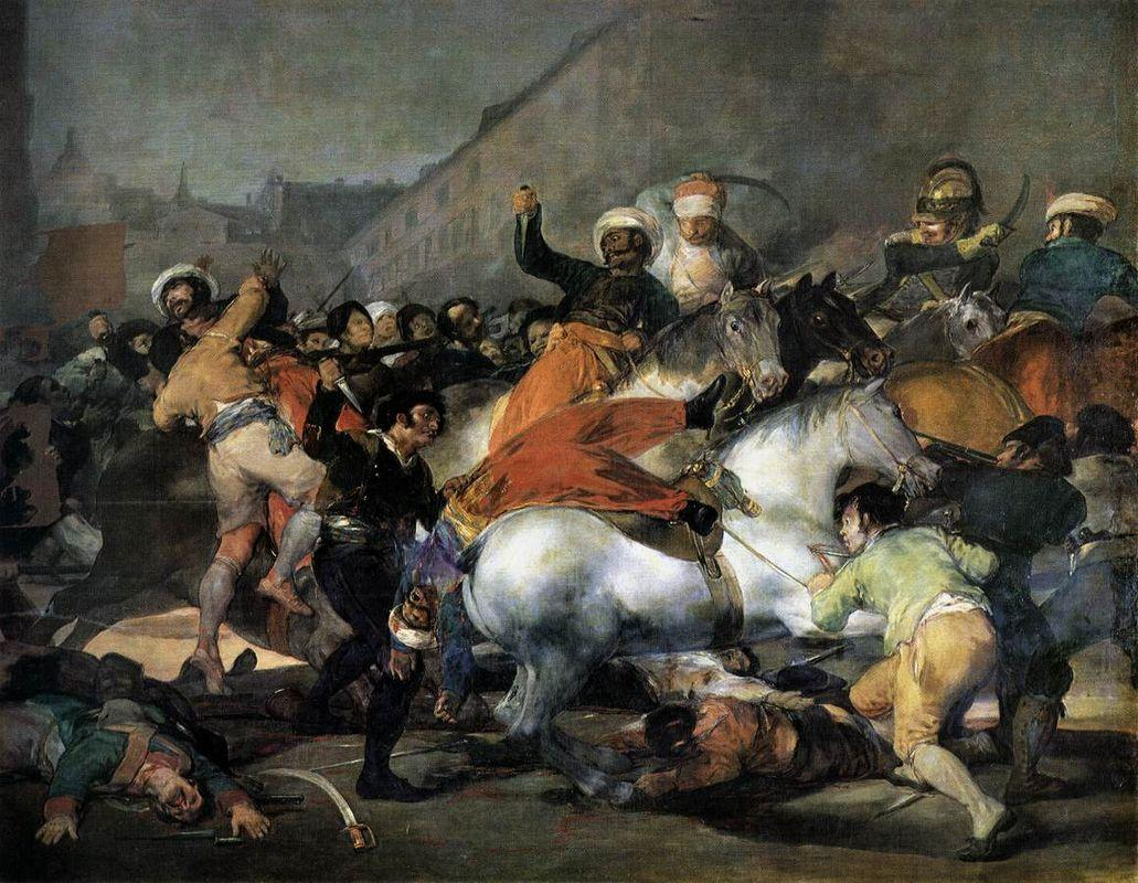 The Second of May, 1808: The Charge of the Mamelukes - Francisco Goya