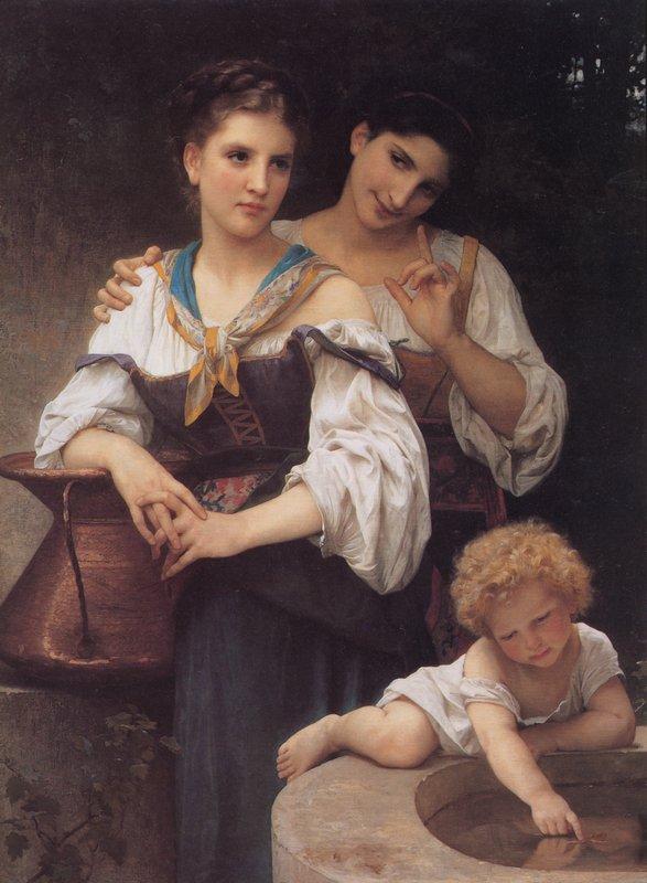 The Secret - William-Adolphe Bouguereau