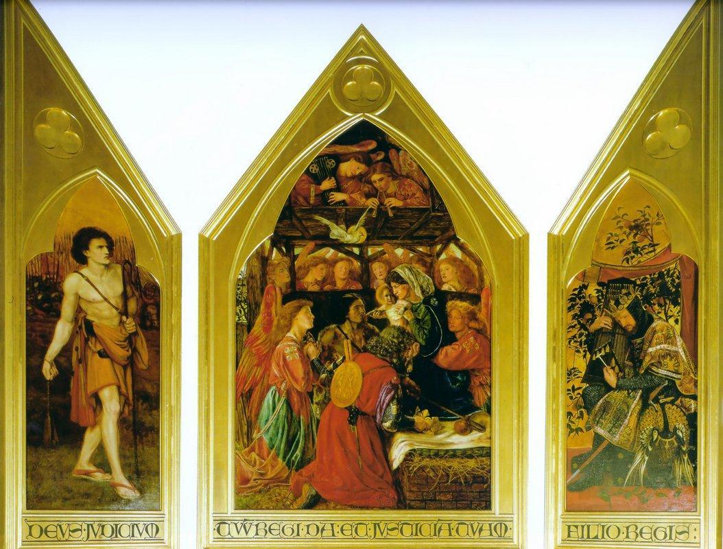 The Seed of David - Dante Gabriel Rossetti