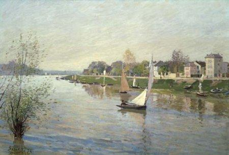 The Seine at Argenteuil - Alfred Sisley
