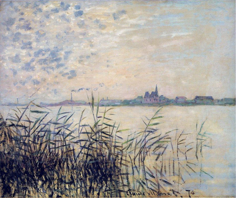 The Seine near Argenteuil - Claude Monet