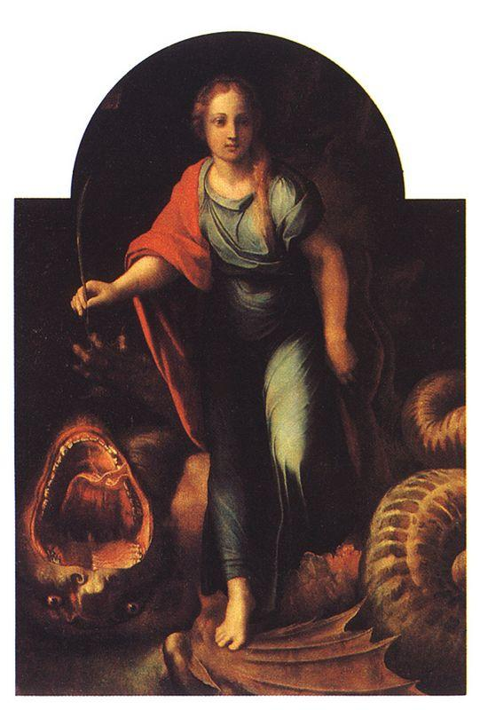 The Serpent & The Cross - Raphael