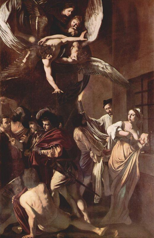 The Seven Works of Mercy - Caravaggio