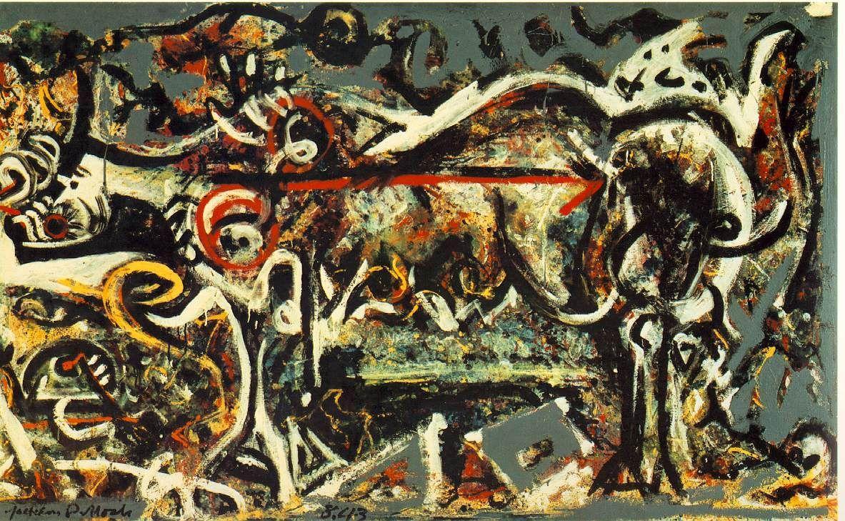 The She-Wolf - Jackson Pollock